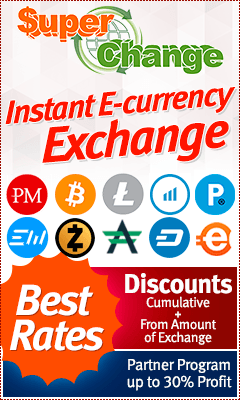 Exchange Perfect Money, Exmo, Payeer, AdvCash, BTC, ETH, BCH, LTC, ZEC, ETH, USDT